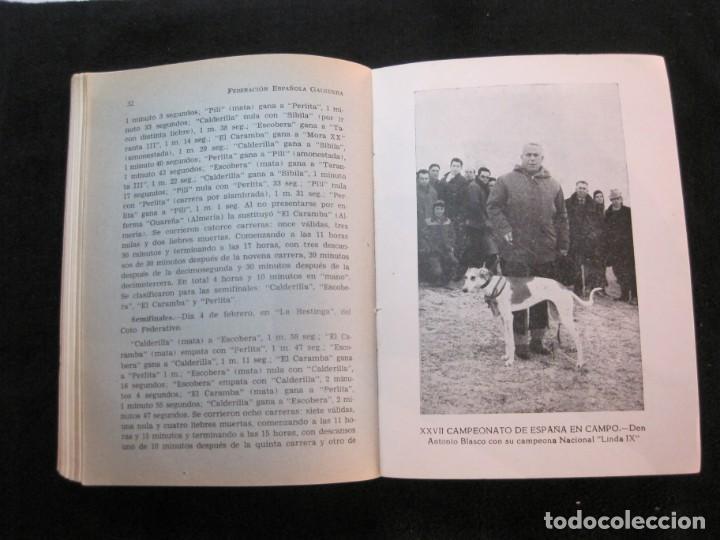 Coleccionismo deportivo: GALGOS-FEDERACION ESPAÑOLA GALGUERA-MEMORIA DEPORTIVA 1965-VER FOTOS-(K-2084) - Foto 40 - 248306145