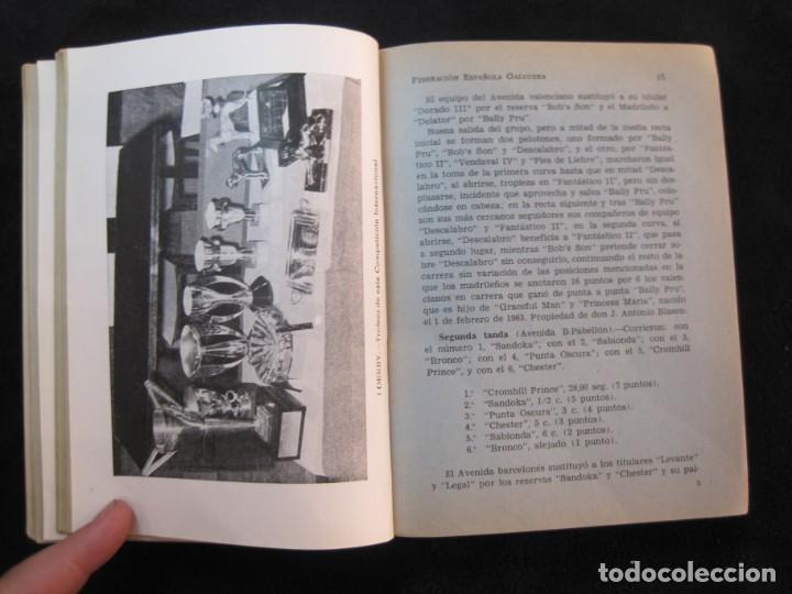 Coleccionismo deportivo: GALGOS-FEDERACION ESPAÑOLA GALGUERA-MEMORIA DEPORTIVA 1965-VER FOTOS-(K-2084) - Foto 43 - 248306145