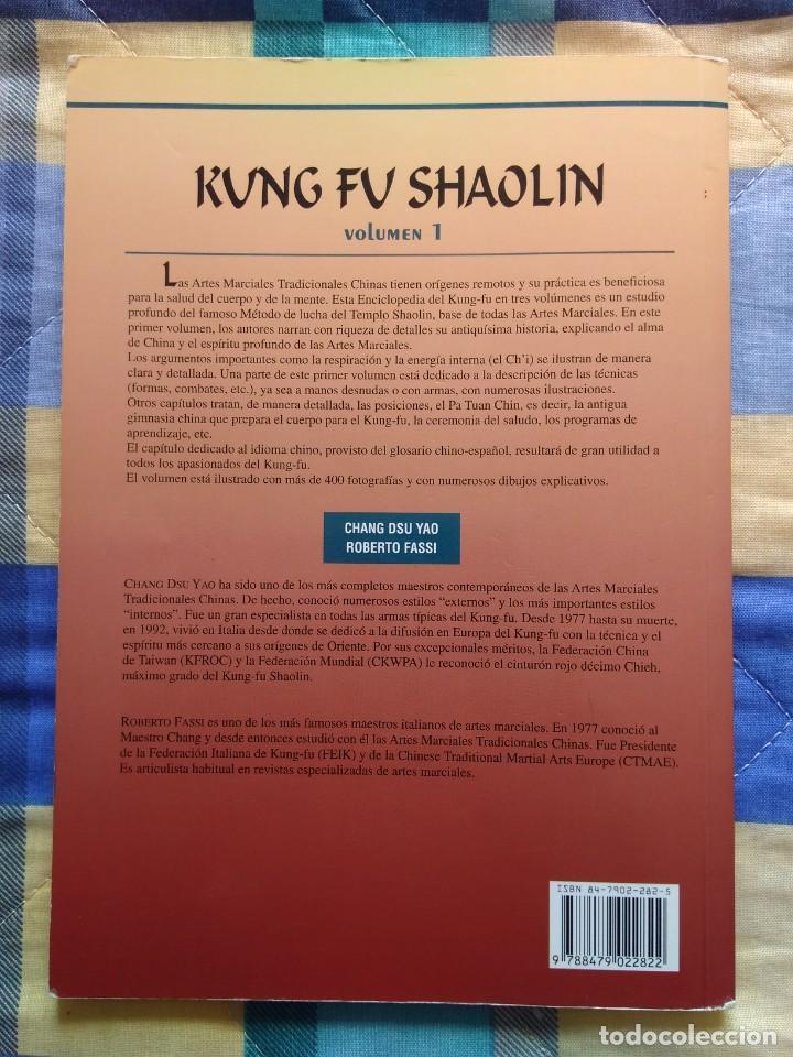 Coleccionismo deportivo: ENCICLOPEDIA DEL KUNG FU SHAOLIN (VOL. I) - CHANG DSU YAO , ROBERTO FASSI (2000) - Foto 2 - 249127355