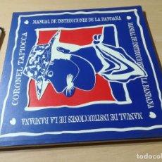 Coleccionismo deportivo: MANUAL DE UTILIZACION DE LA BANDANA - CORONEL TAPIOCA - MONTAÑA ESCULTISMO. Lote 249224550