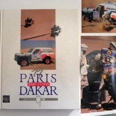 Coleccionismo deportivo: PARÍS BARCELONA DAKAR LIBRO OFICIAL ESPECTACULARES FOTOS DEPORTE RALLY COCHES MOTO CAMIONES DESIERTO. Lote 249302665