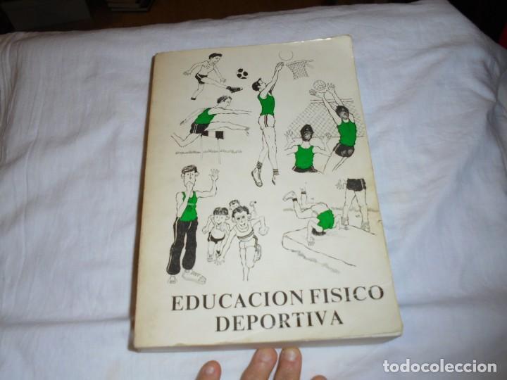 EDUCACION FISICO DEPORTIVA .TERCER CICLO.CURSOS 6º-7º8.AUGUSTO PILA TELEÑA.EDICION 1987 (Coleccionismo Deportivo - Libros de Deportes - Otros)