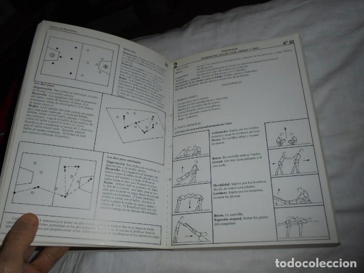 Coleccionismo deportivo: EDUCACION FISICO DEPORTIVA .TERCER CICLO.CURSOS 6º-7º8.AUGUSTO PILA TELEÑA.EDICION 1987 - Foto 5 - 251530620