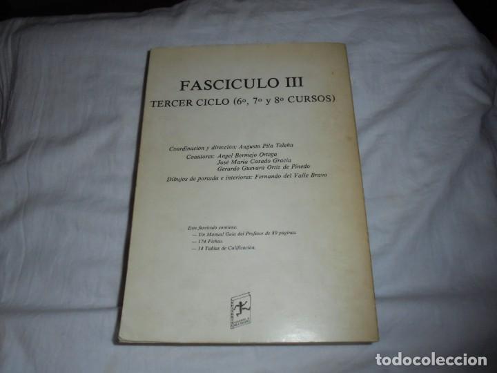 Coleccionismo deportivo: EDUCACION FISICO DEPORTIVA .TERCER CICLO.CURSOS 6º-7º8.AUGUSTO PILA TELEÑA.EDICION 1987 - Foto 11 - 251530620