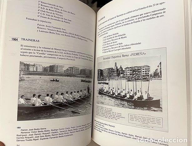 Coleccionismo deportivo: Pedreña. Cien años bogando (1895-1995) Remo; Cudeyo; Cantabria; Regatas: Traineras, Bateles… - Foto 2 - 255992665