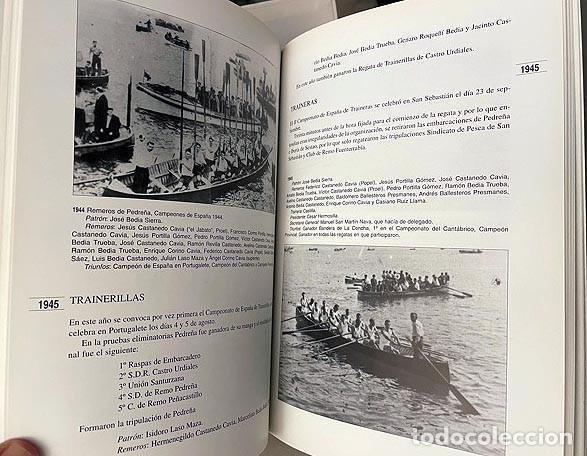 Coleccionismo deportivo: Pedreña. Cien años bogando (1895-1995) Remo; Cudeyo; Cantabria; Regatas: Traineras, Bateles… - Foto 3 - 255992665
