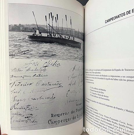 Coleccionismo deportivo: Pedreña. Cien años bogando (1895-1995) Remo; Cudeyo; Cantabria; Regatas: Traineras, Bateles… - Foto 4 - 255992665