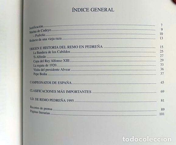 Coleccionismo deportivo: Pedreña. Cien años bogando (1895-1995) Remo; Cudeyo; Cantabria; Regatas: Traineras, Bateles… - Foto 5 - 255992665