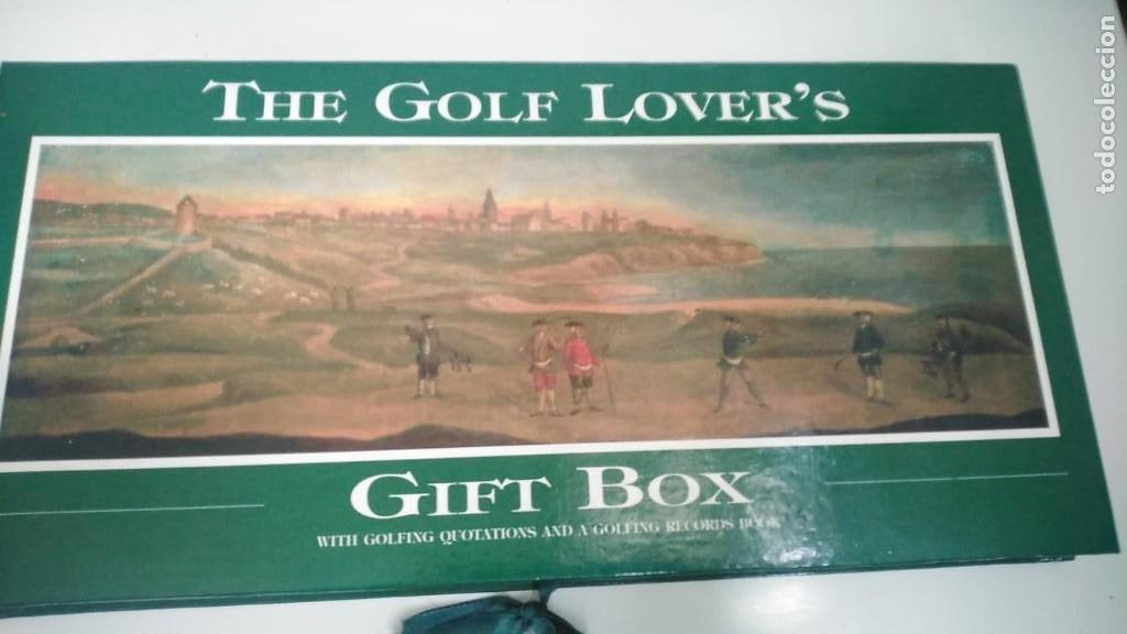 CAJA REGALO GOLF LOVER'S (Coleccionismo Deportivo - Libros de Deportes - Otros)