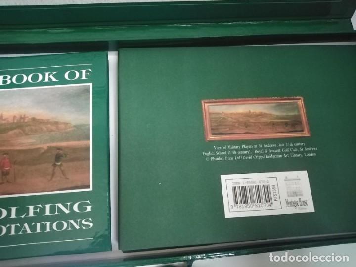 Coleccionismo deportivo: Caja regalo Golf Lovers - Foto 5 - 257376825