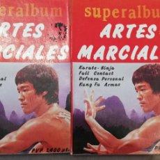 Coleccionismo deportivo: SUPERALBUM ARTES MARCIALES. 1 Y 2. 1986. Lote 260753455
