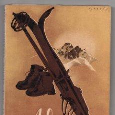 Coleccionismo deportivo: ALPINA. ANUARIO DEL CLUB ALPINO ESPAÑOL 1942. Lote 261357080