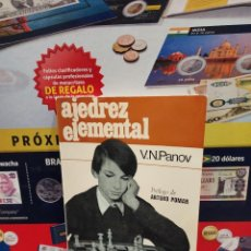 Coleccionismo deportivo: AJEDREZ ELEMENTAL......V.N. PANOV....1979.... Lote 261569580