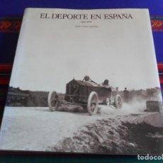 Coleccionismo deportivo: EL DEPORTE EN ESPAÑA 1860-1939 DE JULIO CÉSAR IGLESIAS. LUNWERG 1991. BUEN ESTADO.. Lote 261810365