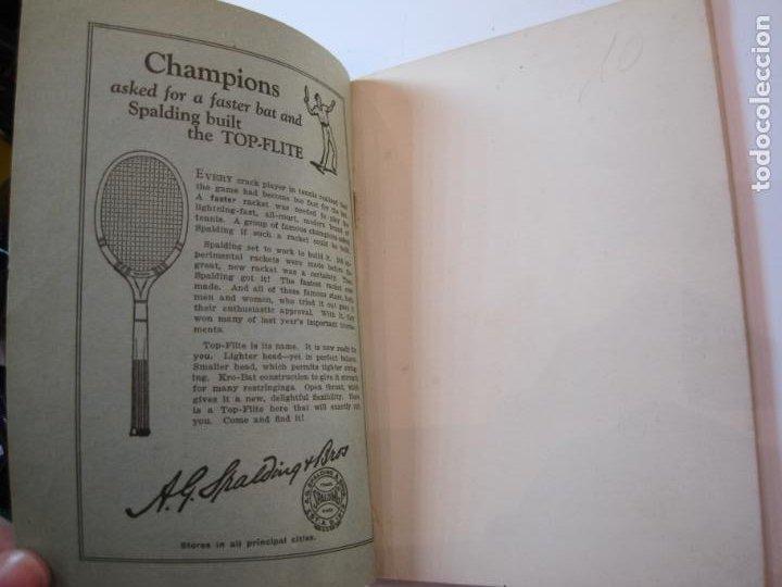 Coleccionismo deportivo: BLUE BOOK OF THE EASTERN LAWN TENNIS ASSOCIATION-LIBRO AÑO 1927-VER FOTOS-(V-22.746) - Foto 6 - 261836010