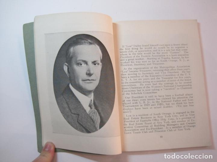 Coleccionismo deportivo: BLUE BOOK OF THE EASTERN LAWN TENNIS ASSOCIATION-LIBRO AÑO 1927-VER FOTOS-(V-22.746) - Foto 11 - 261836010