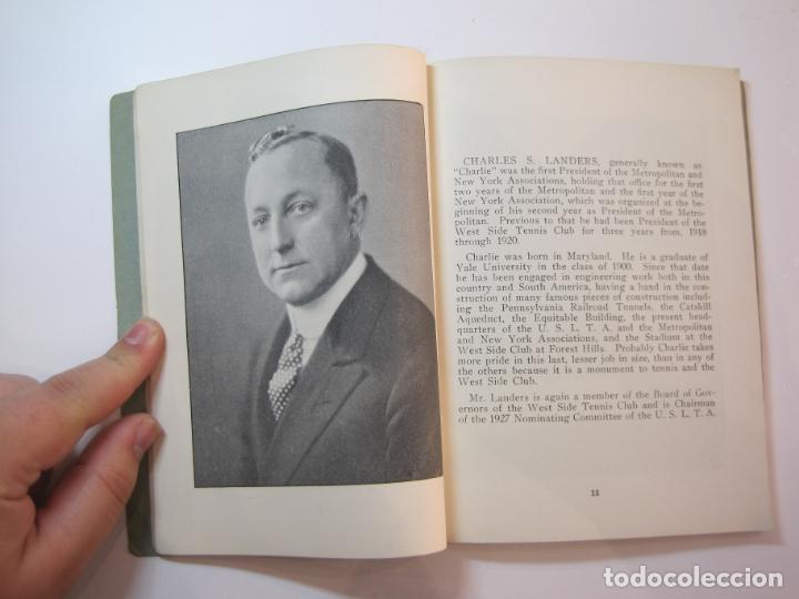 Coleccionismo deportivo: BLUE BOOK OF THE EASTERN LAWN TENNIS ASSOCIATION-LIBRO AÑO 1927-VER FOTOS-(V-22.746) - Foto 12 - 261836010