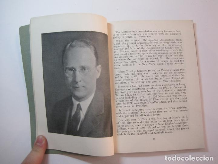 Coleccionismo deportivo: BLUE BOOK OF THE EASTERN LAWN TENNIS ASSOCIATION-LIBRO AÑO 1927-VER FOTOS-(V-22.746) - Foto 13 - 261836010