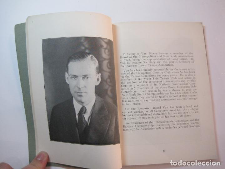 Coleccionismo deportivo: BLUE BOOK OF THE EASTERN LAWN TENNIS ASSOCIATION-LIBRO AÑO 1927-VER FOTOS-(V-22.746) - Foto 14 - 261836010