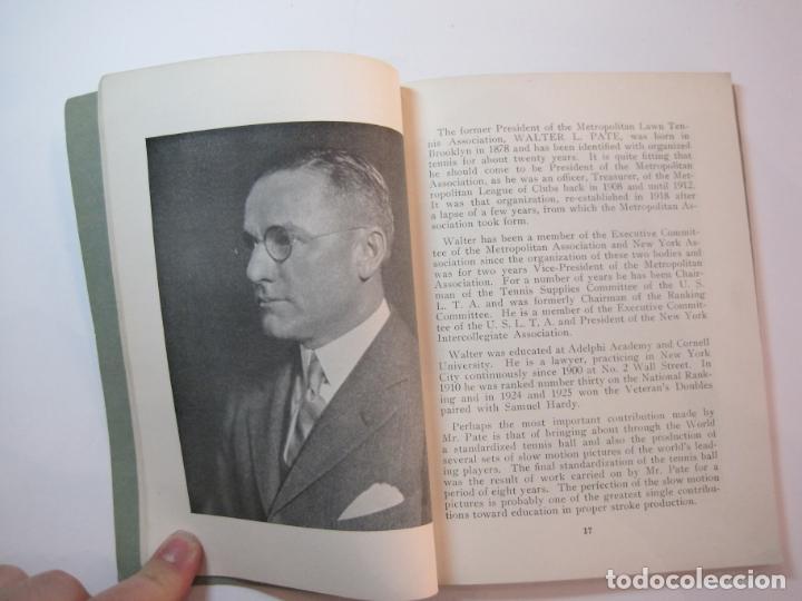 Coleccionismo deportivo: BLUE BOOK OF THE EASTERN LAWN TENNIS ASSOCIATION-LIBRO AÑO 1927-VER FOTOS-(V-22.746) - Foto 15 - 261836010