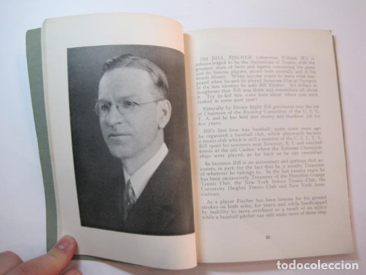 Coleccionismo deportivo: BLUE BOOK OF THE EASTERN LAWN TENNIS ASSOCIATION-LIBRO AÑO 1927-VER FOTOS-(V-22.746) - Foto 16 - 261836010