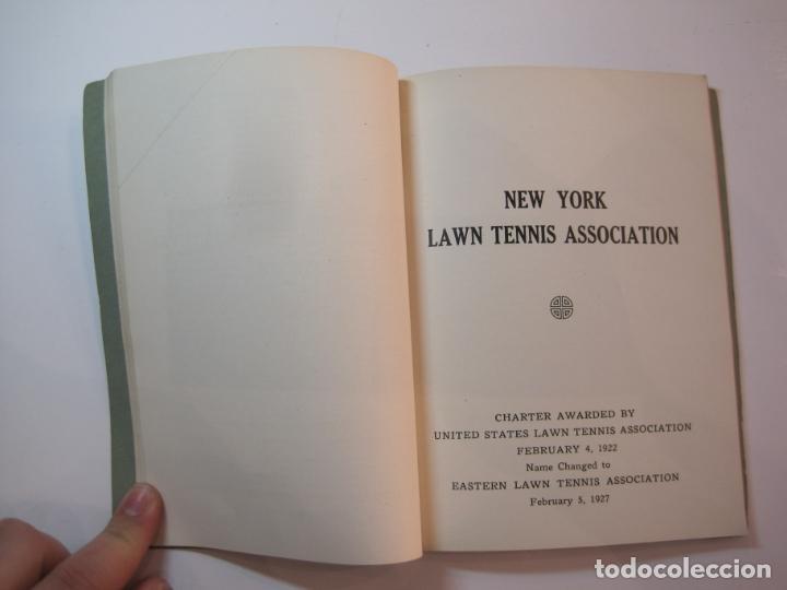 Coleccionismo deportivo: BLUE BOOK OF THE EASTERN LAWN TENNIS ASSOCIATION-LIBRO AÑO 1927-VER FOTOS-(V-22.746) - Foto 17 - 261836010
