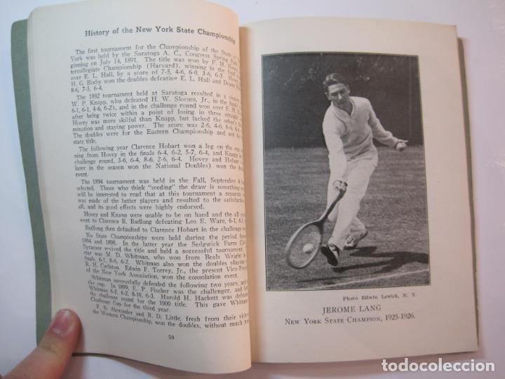 Coleccionismo deportivo: BLUE BOOK OF THE EASTERN LAWN TENNIS ASSOCIATION-LIBRO AÑO 1927-VER FOTOS-(V-22.746) - Foto 18 - 261836010