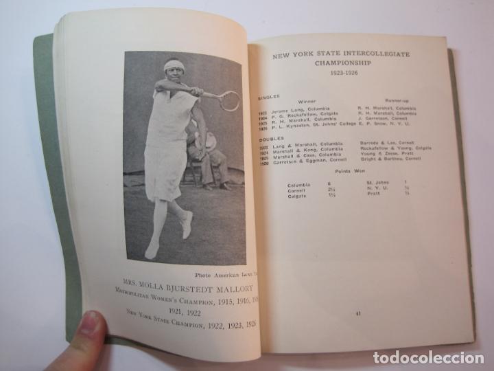 Coleccionismo deportivo: BLUE BOOK OF THE EASTERN LAWN TENNIS ASSOCIATION-LIBRO AÑO 1927-VER FOTOS-(V-22.746) - Foto 20 - 261836010