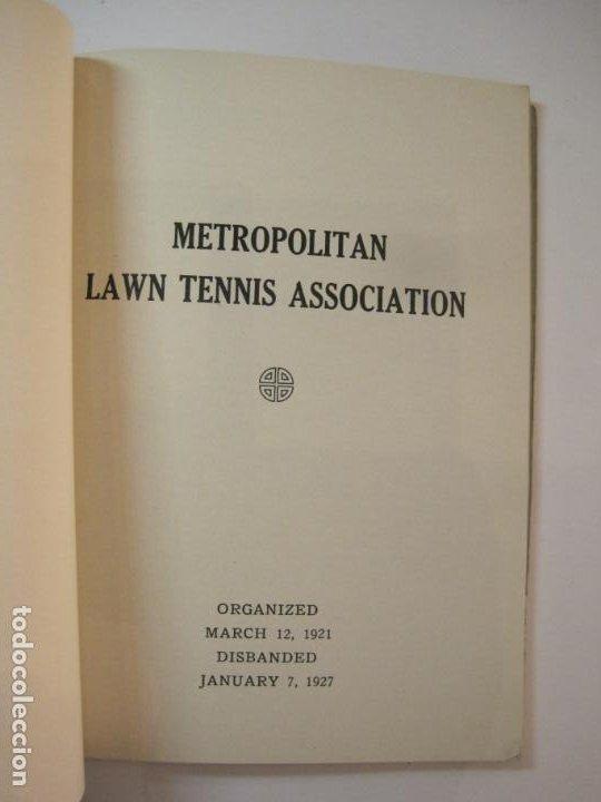 Coleccionismo deportivo: BLUE BOOK OF THE EASTERN LAWN TENNIS ASSOCIATION-LIBRO AÑO 1927-VER FOTOS-(V-22.746) - Foto 22 - 261836010