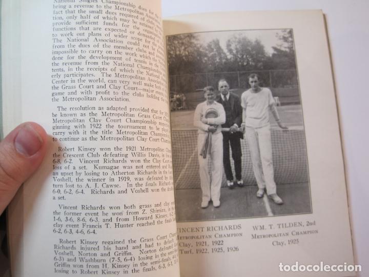 Coleccionismo deportivo: BLUE BOOK OF THE EASTERN LAWN TENNIS ASSOCIATION-LIBRO AÑO 1927-VER FOTOS-(V-22.746) - Foto 24 - 261836010