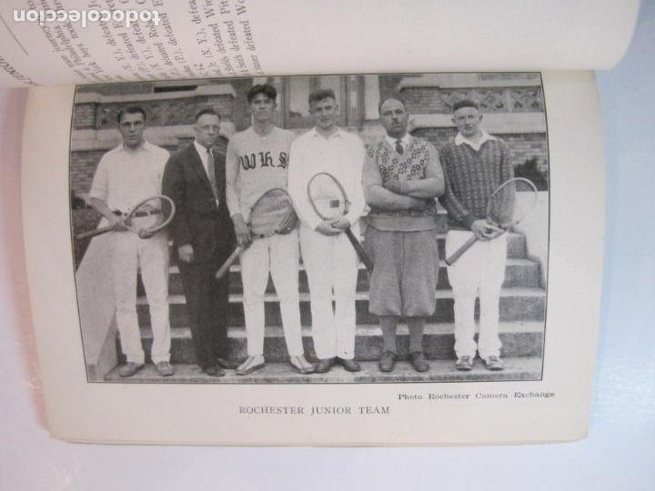 Coleccionismo deportivo: BLUE BOOK OF THE EASTERN LAWN TENNIS ASSOCIATION-LIBRO AÑO 1927-VER FOTOS-(V-22.746) - Foto 27 - 261836010