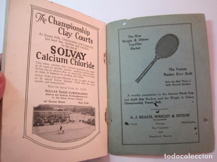 Coleccionismo deportivo: BLUE BOOK OF THE EASTERN LAWN TENNIS ASSOCIATION-LIBRO AÑO 1927-VER FOTOS-(V-22.746) - Foto 29 - 261836010
