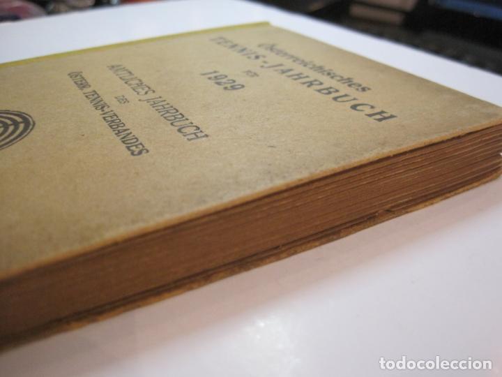 Coleccionismo deportivo: ÖSTERREICHISCHES TENNIS JAHRBUCH-LIBRO AÑO 1929-ANUARIO DE TENIS AUSTRIA-VER FOTOS-(V-22.747) - Foto 3 - 261836860