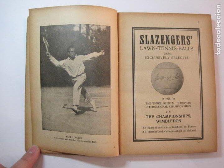 Coleccionismo deportivo: ÖSTERREICHISCHES TENNIS JAHRBUCH-LIBRO AÑO 1929-ANUARIO DE TENIS AUSTRIA-VER FOTOS-(V-22.747) - Foto 12 - 261836860