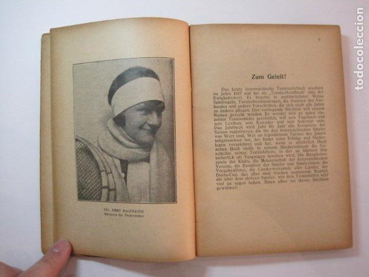 Coleccionismo deportivo: ÖSTERREICHISCHES TENNIS JAHRBUCH-LIBRO AÑO 1929-ANUARIO DE TENIS AUSTRIA-VER FOTOS-(V-22.747) - Foto 14 - 261836860
