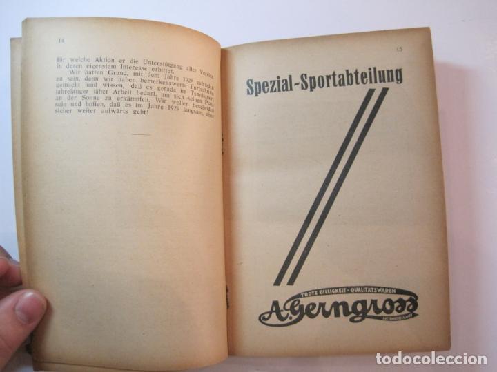 Coleccionismo deportivo: ÖSTERREICHISCHES TENNIS JAHRBUCH-LIBRO AÑO 1929-ANUARIO DE TENIS AUSTRIA-VER FOTOS-(V-22.747) - Foto 15 - 261836860