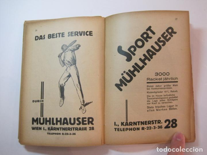 Coleccionismo deportivo: ÖSTERREICHISCHES TENNIS JAHRBUCH-LIBRO AÑO 1929-ANUARIO DE TENIS AUSTRIA-VER FOTOS-(V-22.747) - Foto 16 - 261836860