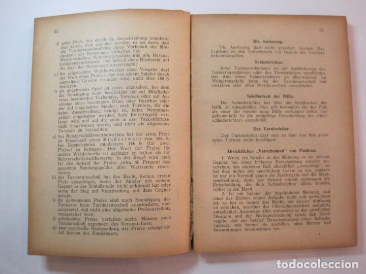 Coleccionismo deportivo: ÖSTERREICHISCHES TENNIS JAHRBUCH-LIBRO AÑO 1929-ANUARIO DE TENIS AUSTRIA-VER FOTOS-(V-22.747) - Foto 17 - 261836860