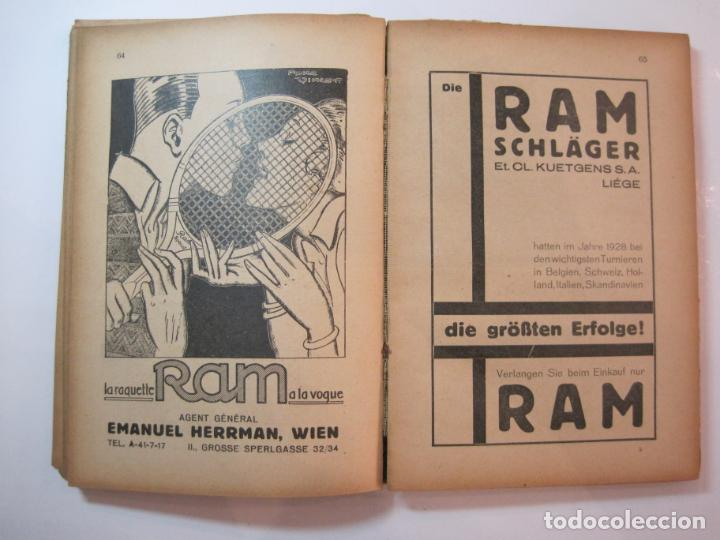 Coleccionismo deportivo: ÖSTERREICHISCHES TENNIS JAHRBUCH-LIBRO AÑO 1929-ANUARIO DE TENIS AUSTRIA-VER FOTOS-(V-22.747) - Foto 18 - 261836860