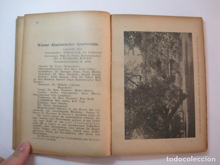 Coleccionismo deportivo: ÖSTERREICHISCHES TENNIS JAHRBUCH-LIBRO AÑO 1929-ANUARIO DE TENIS AUSTRIA-VER FOTOS-(V-22.747) - Foto 20 - 261836860
