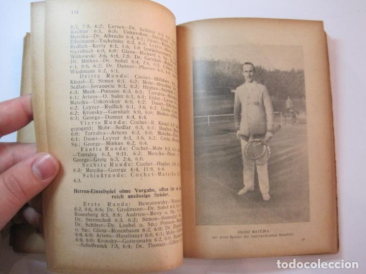 Coleccionismo deportivo: ÖSTERREICHISCHES TENNIS JAHRBUCH-LIBRO AÑO 1929-ANUARIO DE TENIS AUSTRIA-VER FOTOS-(V-22.747) - Foto 24 - 261836860
