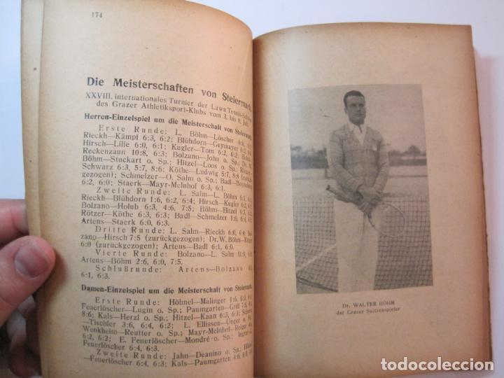 Coleccionismo deportivo: ÖSTERREICHISCHES TENNIS JAHRBUCH-LIBRO AÑO 1929-ANUARIO DE TENIS AUSTRIA-VER FOTOS-(V-22.747) - Foto 25 - 261836860