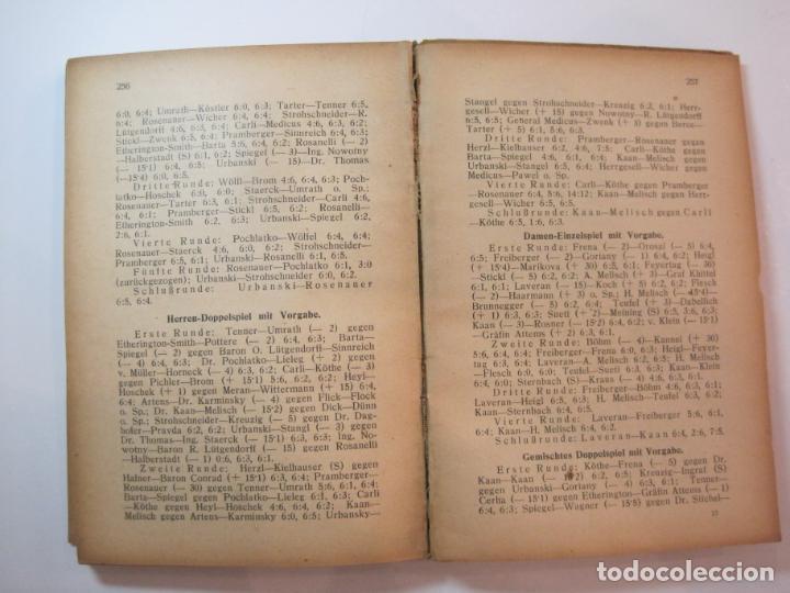 Coleccionismo deportivo: ÖSTERREICHISCHES TENNIS JAHRBUCH-LIBRO AÑO 1929-ANUARIO DE TENIS AUSTRIA-VER FOTOS-(V-22.747) - Foto 26 - 261836860
