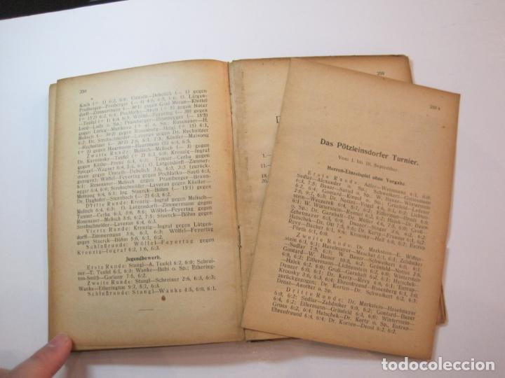Coleccionismo deportivo: ÖSTERREICHISCHES TENNIS JAHRBUCH-LIBRO AÑO 1929-ANUARIO DE TENIS AUSTRIA-VER FOTOS-(V-22.747) - Foto 27 - 261836860