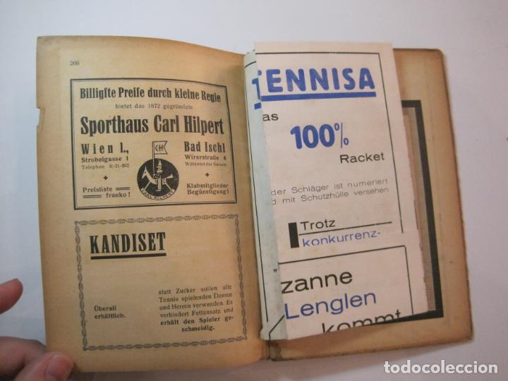 Coleccionismo deportivo: ÖSTERREICHISCHES TENNIS JAHRBUCH-LIBRO AÑO 1929-ANUARIO DE TENIS AUSTRIA-VER FOTOS-(V-22.747) - Foto 32 - 261836860