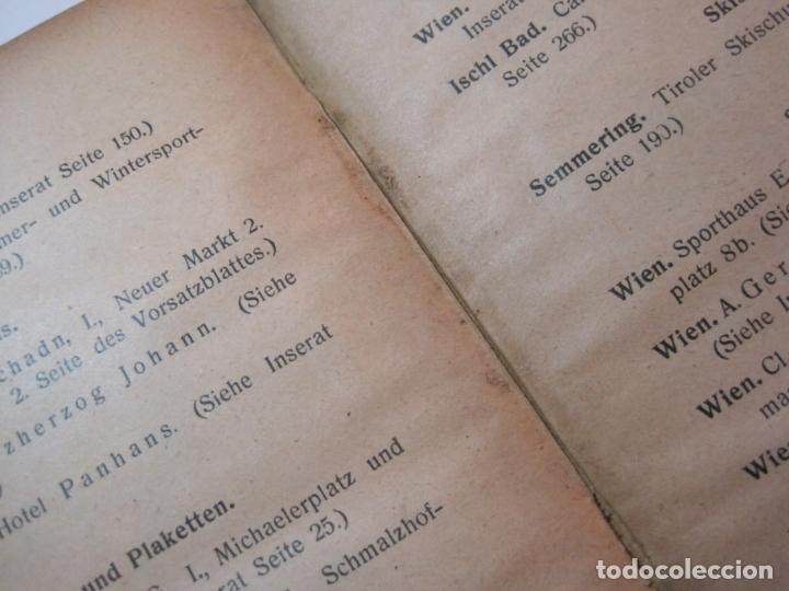 Coleccionismo deportivo: ÖSTERREICHISCHES TENNIS JAHRBUCH-LIBRO AÑO 1929-ANUARIO DE TENIS AUSTRIA-VER FOTOS-(V-22.747) - Foto 33 - 261836860