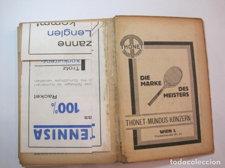 Coleccionismo deportivo: ÖSTERREICHISCHES TENNIS JAHRBUCH-LIBRO AÑO 1929-ANUARIO DE TENIS AUSTRIA-VER FOTOS-(V-22.747) - Foto 35 - 261836860