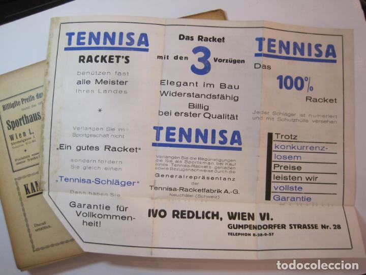 Coleccionismo deportivo: ÖSTERREICHISCHES TENNIS JAHRBUCH-LIBRO AÑO 1929-ANUARIO DE TENIS AUSTRIA-VER FOTOS-(V-22.747) - Foto 36 - 261836860