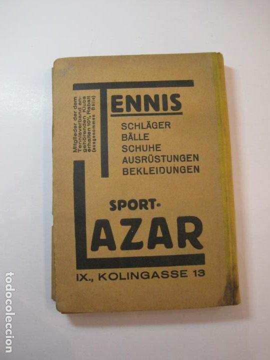Coleccionismo deportivo: ÖSTERREICHISCHES TENNIS JAHRBUCH-LIBRO AÑO 1929-ANUARIO DE TENIS AUSTRIA-VER FOTOS-(V-22.747) - Foto 37 - 261836860