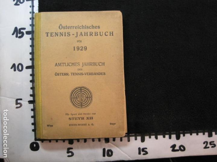 Coleccionismo deportivo: ÖSTERREICHISCHES TENNIS JAHRBUCH-LIBRO AÑO 1929-ANUARIO DE TENIS AUSTRIA-VER FOTOS-(V-22.747) - Foto 38 - 261836860
